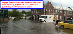Engage Newport - SEA Aware-Public Event on Rising Sea Level