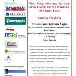 Thompson Techno Expo will be held March 1st!