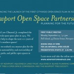 Master Plan Community Meeting – Open Spaces 9/14/15 @ 5pm Pell School
