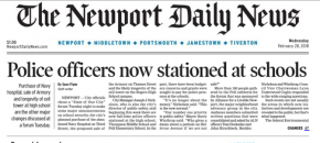 The Newport Daily News | Page A01Wednesday, 28 February 2018